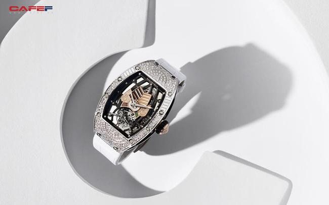Mẫu đồng hồ tourbillion mới của Richard Mille: Có giá hàng trăm nghìn đô, sản xuất giới hạn và dành riêng cho phái đẹp!