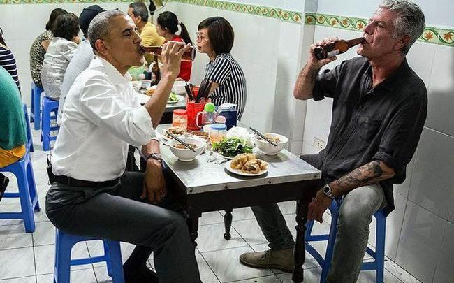 Kết quả hình ảnh cho bún chả obama