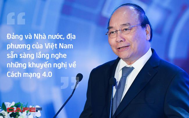Thủ tướng Nguyễn Xuân Phúc: Cách mạng công nghiệp 4.0 là cơ hội tốt để Việt Nam đảo chiều về đầu tư thương mại!