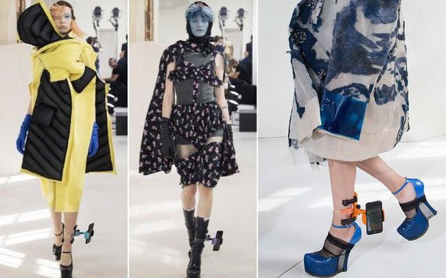 Xu hướng mới nhất trong làng thời trang cao cấp: Vòng đeo chân có thể giữ điện thoại của bạn!