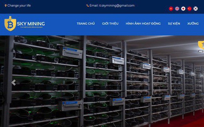 """Cộng đồng tiền ảo hoang mang vì thông tin Tổng Giám đốc Sky Mining """"biến mất"""""""