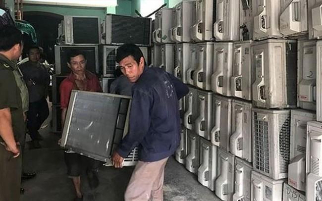 Ðiện máy - điện lạnh cũ, mua bao nhiêu cũng có