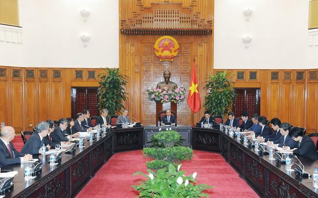 Thủ tướng mong muốn Keidanren giúp doanh nghiệp Nhật Bản đầu tư nhiều hơn vào Việt Nam