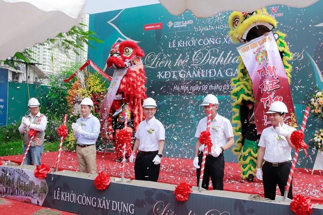 Khu đô thị Gamuda Gardens khởi công dự án liền kề Dalia Homes