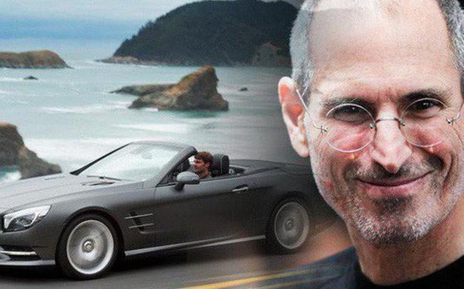 Vì sao cứ 6 tháng Steve Jobs lại đổi xe một lần dù chưa hề có một vết xước nhỏ?