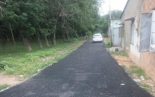 Vụ bỏ 200 triệu làm đường giúp dân ở Sài Gòn: Xã quyết định phá bỏ con đường