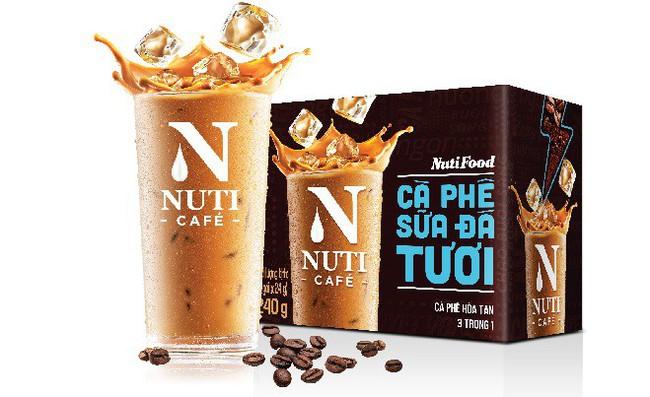 """NutiFood """"đóng gói"""" cà phê sữa đá pha phin vào gói cà phê hòa tan"""