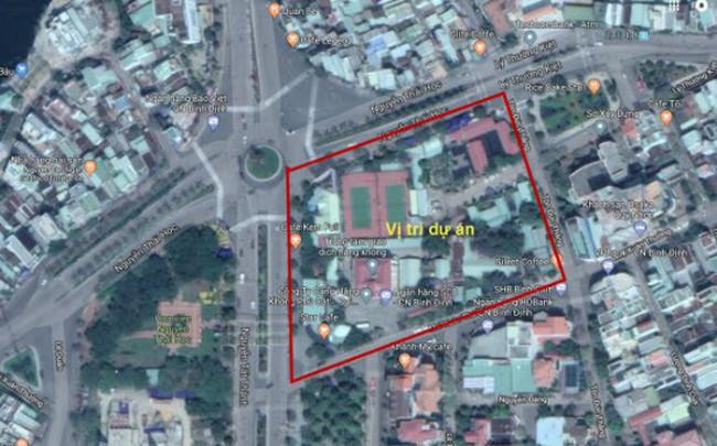 """Bình Định tìm nhà đầu tư cho dự án trên """"đất vàng"""" 4 mặt tiền trung tâm thành phố Quy Nhơn"""