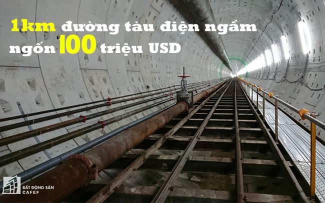 1 km tàu điện ngầm tại Việt Nam tốn khoảng 100 triệu USD, nhưng sẽ là bài toán giúp các đô thị phát triển bền vững