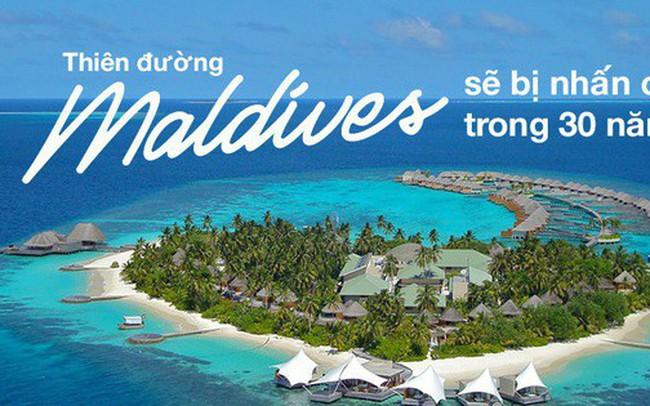 Thiên đường Maldives đối mặt với nguy cơ biến mất khỏi bản đồ thế giới