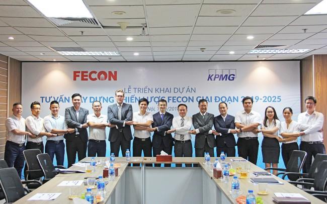 FECON bắt tay với KPMG, tư vấn chiến lược đến 2025