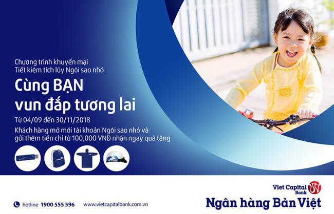 """""""Cùng bạn vun đắp tương lai"""" cho con yêu với Ngân hàng Bản Việt"""