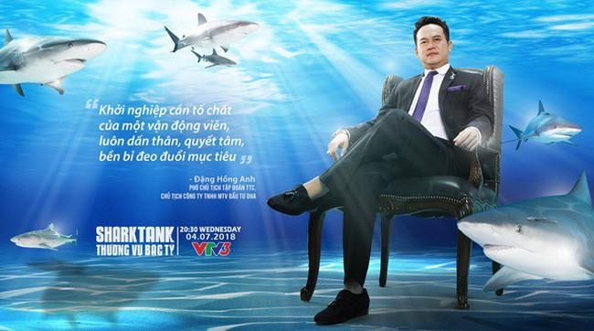 Phó Chủ tịch Tập đoàn TTC Đặng Hồng Anh tham gia Shark Tank: Muốn tiếp lửa tinh thần khởi nghiệp cho thế hệ trẻ