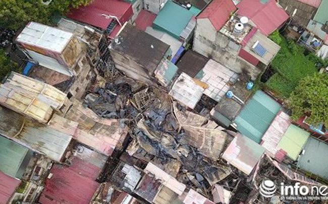 """Cháy xóm trọ Đê La Thành: Lùm xùm quanh nhà ông Hiệp """"khùng"""""""