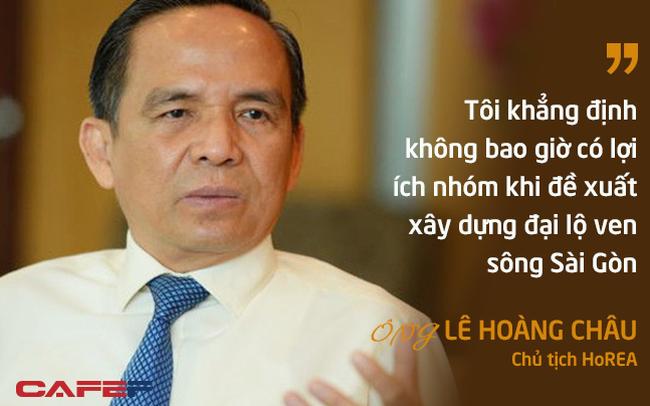 """Vì sao HoREA ủng hộ """"chúa đảo"""" Tuần Châu làm siêu đại lộ ven sông Sài Gòn?"""