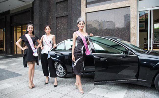"""Top 3 Hoa Hậu Việt Nam 2018 trở lại """"Ngôi nhà chung"""" Léman Luxury Apartments trước khi chia tay nhau"""
