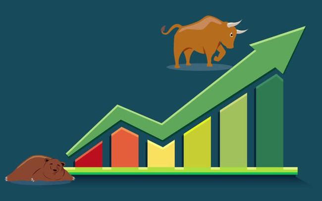 """Cổ phiếu chứng khoán, dầu khí """"đốt nóng"""" thị trường, Vn-Index nhẹ nhàng vượt mốc 1.015 điểm"""
