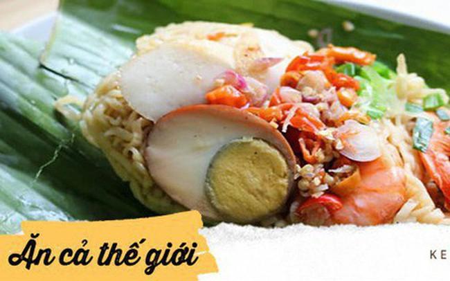 Ở Indonesia có một nhà hàng với kiểu thưởng mì độc đáo chưa từng thấy, ăn xong đảm bảo nhớ mãi