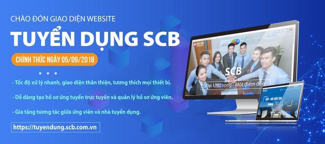 SCB ra mắt website tuyển dụng mới gia tăng tương tác với các ứng viên