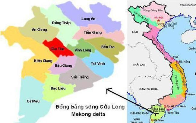 Điều chỉnh quy hoạch vùng đồng bằng sông Cửu Long