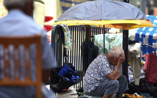 Hơn 1/5 dân số Hồng Kông đang sống dưới ngưỡng nghèo