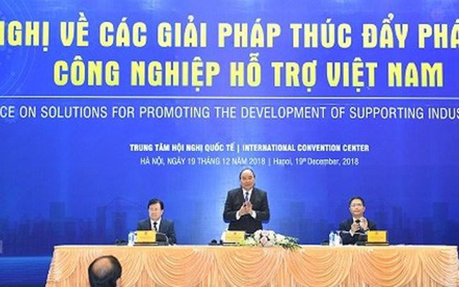 """""""Bánh đà"""" của nền công nghiệp Việt Nam còn yếu"""