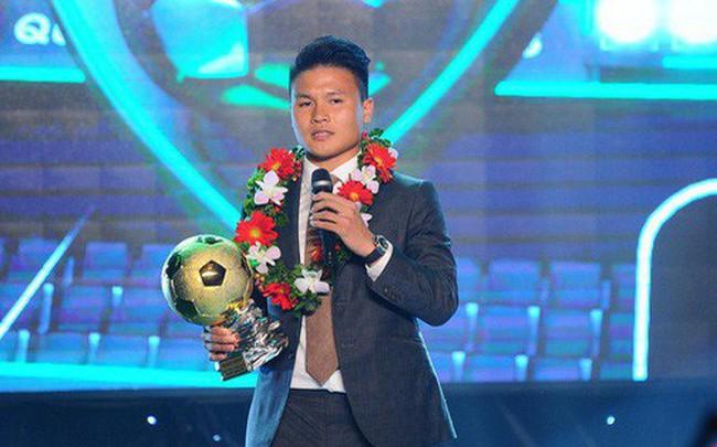 Quang Hải chia sẻ điều ước giản đơn sau khi giành Quả bóng vàng Việt Nam 2018