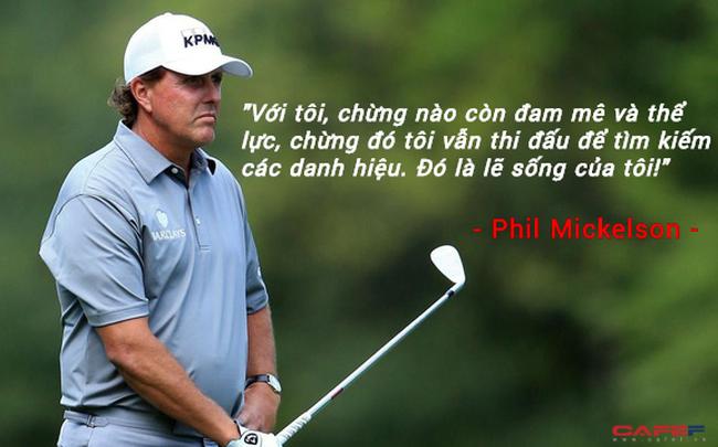 """Chuyện ít biết về Phil Mickelson: """"Cánh chim"""" không mỏi của làng golf thế giới"""