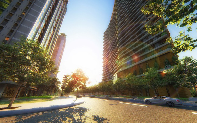 Cất nóc tòa chung cư cao nhất Bắc Giang