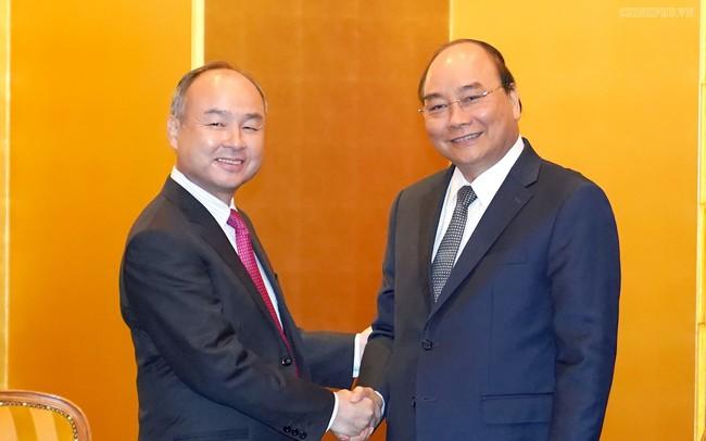 Thủ tướng tiếp tập đoàn đầu tư tài chính lớn nhất Nhật Bản