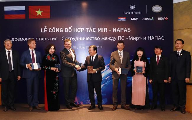BIDV là ngân hàng đầu tiên tại Việt Nam triển khai chấp nhận thanh toán thẻ MIR trên POS