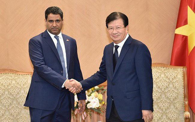 Đại gia dầu khí UAE muốn đầu tư vào năng lượng tái tạo, dược phẩm… ở Việt Nam