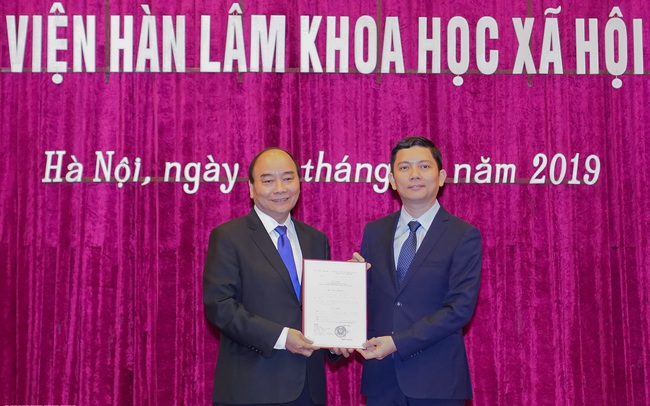 Chân dung Tân Chủ tịch Viện Hàn lâm Khoa học Xã hội Việt Nam: 44 tuổi, từng đảm nhận vị trí  Phó Chủ tịch UBND Ninh Thuận