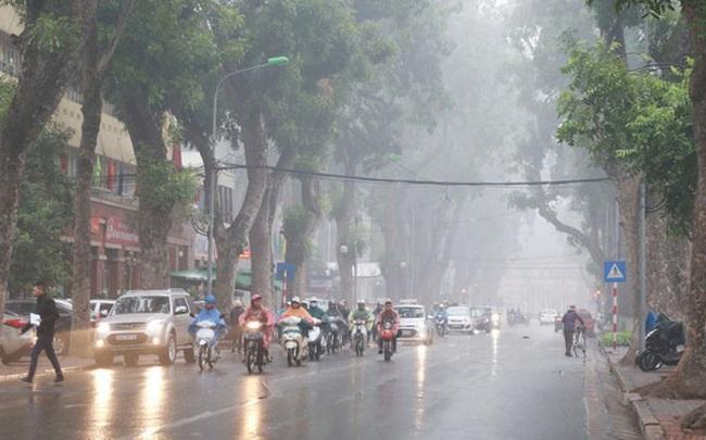 Không khí lạnh tràn về, Bắc Bộ chuyển mưa rét