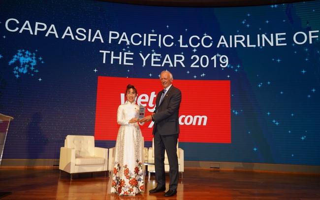 CAPA bầu chọn Vietjet là hãng hàng không chi phí thấp dẫn đầu tại Châu Á Thái Bình Dương năm 2019