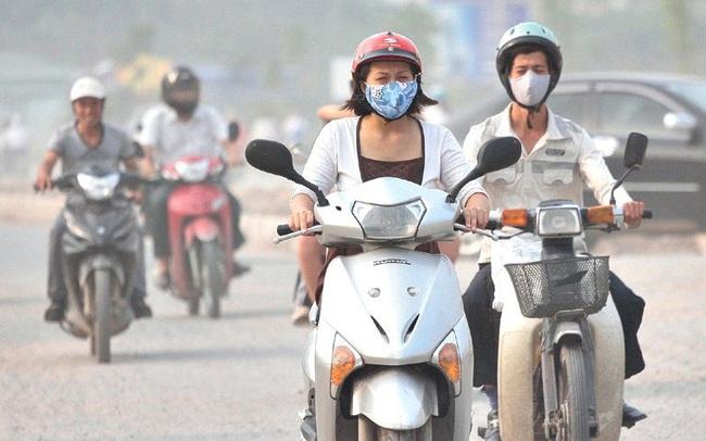 Video: Khẩu trang không thể cản được bụi ô nhiễm ở miền Bắc