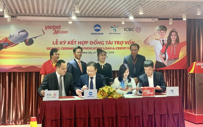 Vietjet ký kết Hợp đồng tài trợ vốn quốc tế với tổng giá trị 200 triệu USD