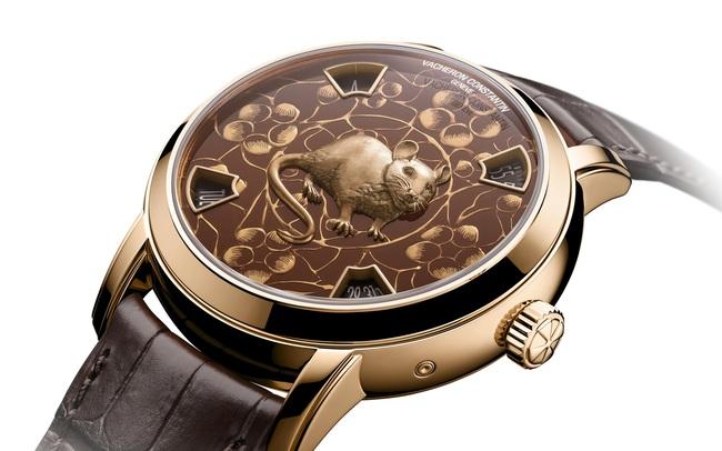 """Chiều lòng giới mộ điệu, Vacheron Constantin vừa bổ sung """"con chuột"""" của năm Canh Tý vào bộ sưu tập Huyền thoại 12 con giáp"""