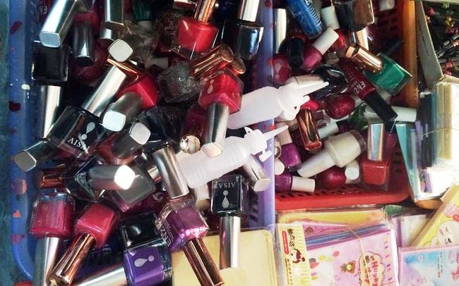 Phát hiện và thu giữ hơn 3.200 sản phẩm mỹ phẩm nhập lậu tại Lạng Sơn