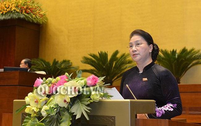 Chủ tịch Quốc hội Nguyễn Thị Kim Ngân: Thế giới và khu vực có nhiều biến động phức tạp, Quốc hội yêu cầu theo dõi sát tình hình để ứng phó phù hợp