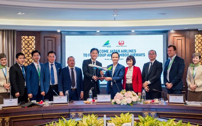 Lãnh đạo Japan Airlines mong muốn hợp tác toàn diện giữa Bamboo Airways và Japan Airlines
