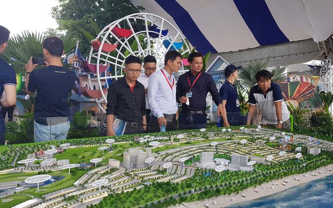 Hàng loạt dự án BĐS lớn, đại gia ngành xây dựng xuất hiện tại Novaland Expo