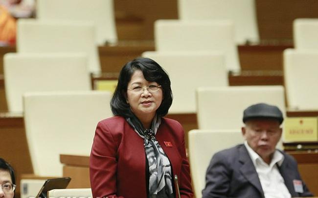 Phó Chủ tịch nước chất vấn Bộ trưởng Nông nghiệp về việc xây dựng nông thôn mới ở vùng sâu, vùng xa
