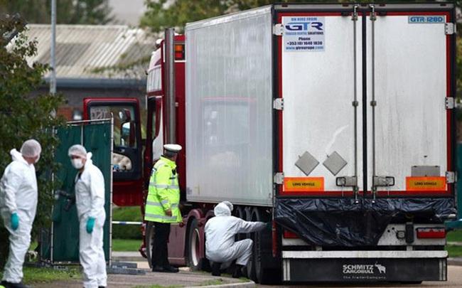 Cảnh sát Anh: Gia đình 39 người thiệt mạng trong container ở Anh đã được báo tin dữ