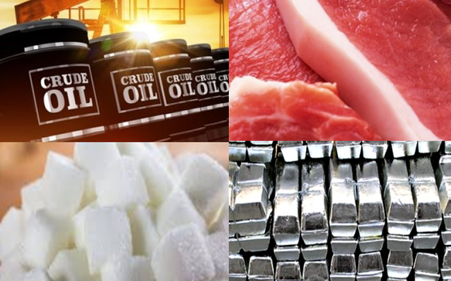 Thị trường ngày 20/12: Giá dầu và nhôm đạt đỉnh 3 tháng; than, sắt thép, thịt lợn đồng loạt tăng cao