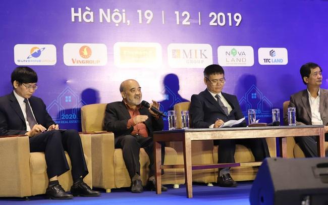 """""""Năm 2020 giá nhà tại Hà Nội sẽ tiếp tục tăng mạnh, có thể xảy ra tình trạng thiếu cung năm 2021"""""""