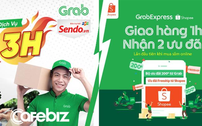 Vì sao ShopeeExpress giao hàng 4h, TikiNow giao 2h, còn Grab đi với Sendo thì giao trong 3h, nhưng Grab kết hợp Shopee lại có thể giao trong 1h?