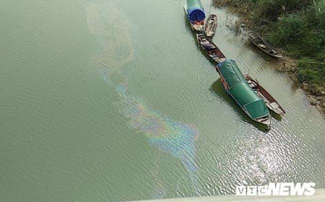 Kết quả phân tích mẫu nước sông Lam sau khi xuất hiện vệt dầu loang