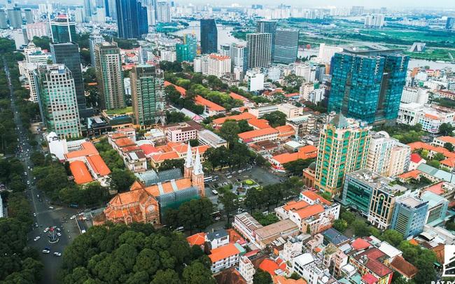 Một góc Trung tâm Quận 1 - Tp Hồ Chí Minh