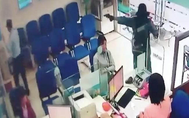 Năm 2018 xảy ra 6 vụ cướp ngân hàng